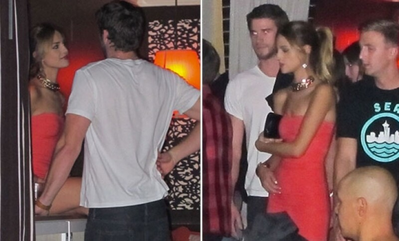 Estas fueron las primeras imágenes de Liam y Eiza juntos durante su visita a Las Vegas el fin de semana del 15 de septiembre.