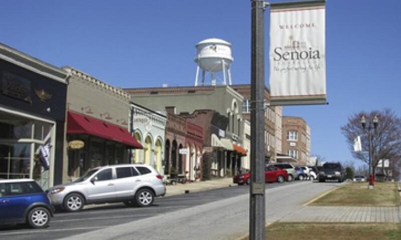 Comerciantes de Senoia dicen que sus ventas han crecido 40% desde la filmación de la serie The Walking Dead. (Foto: Reuters)