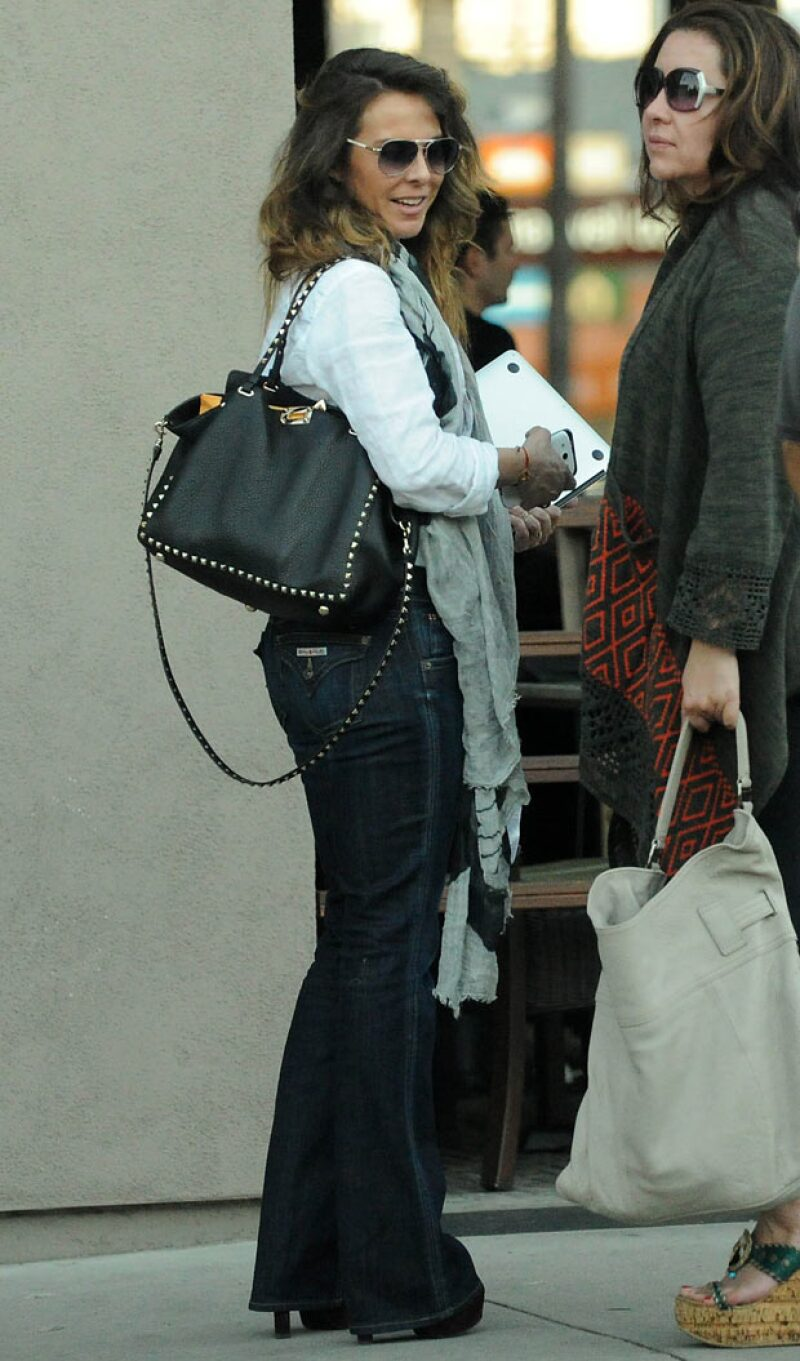 Kate del Castillo se reunió con su amiga, Jessica Maldonado.