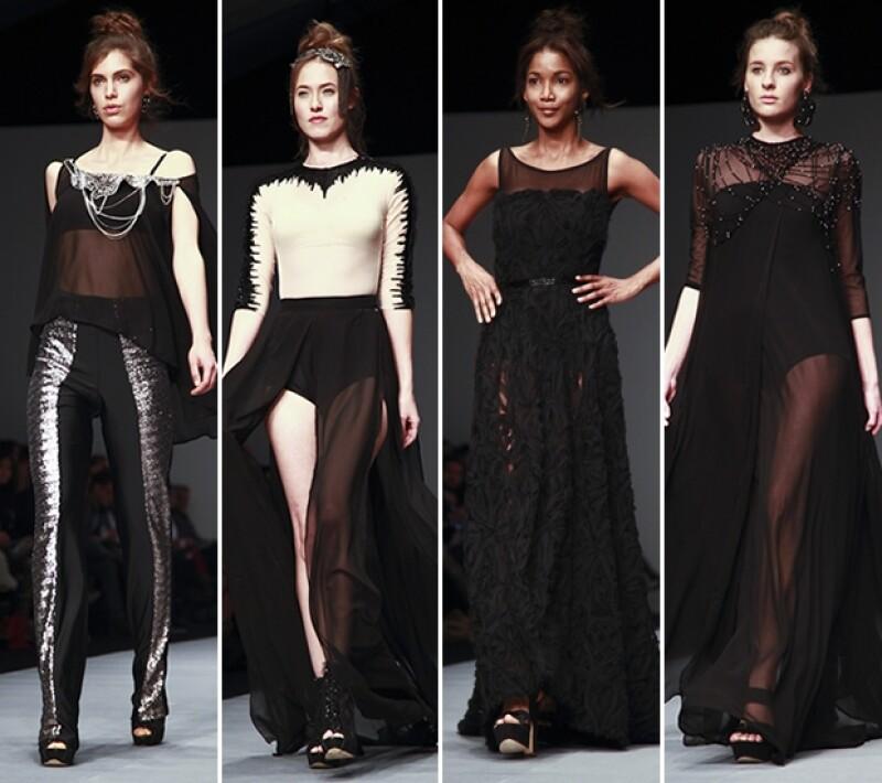 Los diseños de Nayeli Pavón fueron elegantes y vanguardistas.