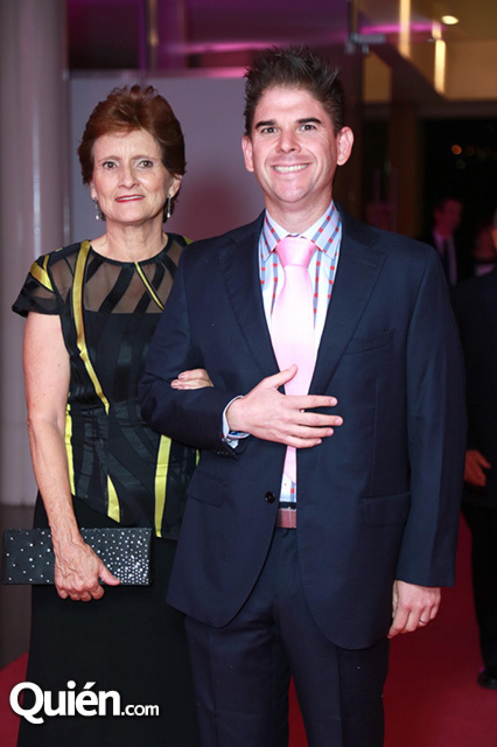 Cristina de Navarro y Mariano Moreno