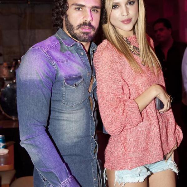Pepe Díaz y Eiza González