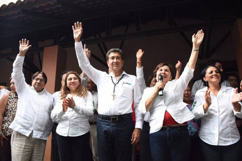 El programa de ayuda social en el estado era usado presuntamente con fines electorales por parte Alejandro Baquedano Sánchez a favor del PRI.