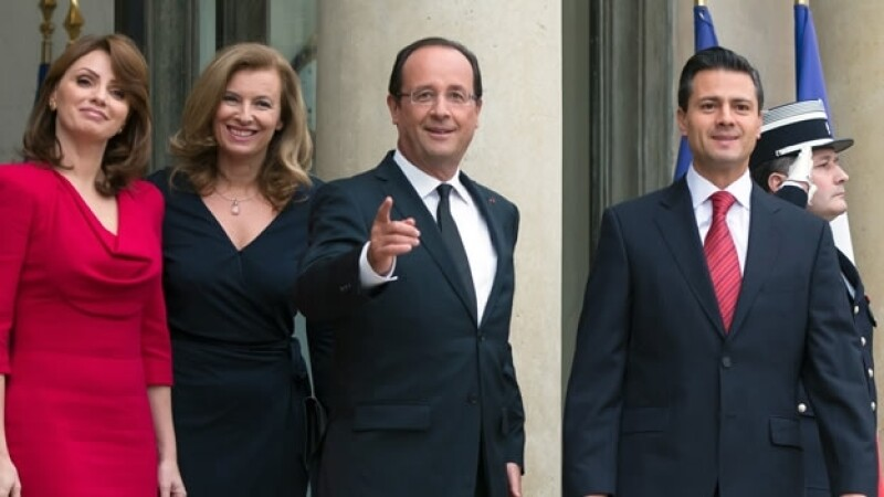 Hollande Peña Nieto 2012
