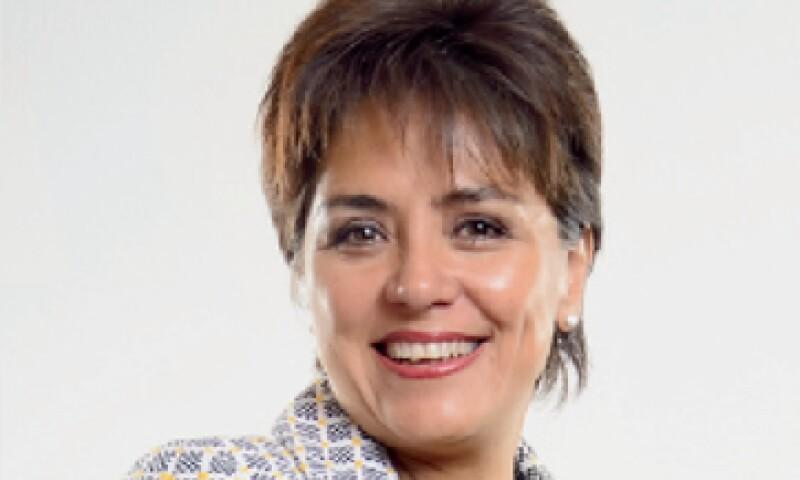 Irene Espinosa, tesorera de la Federación. (Foto: Ramón Sánchez Belmont)