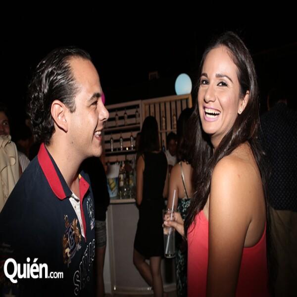 Óscar Alcocer y Bárbara Castro