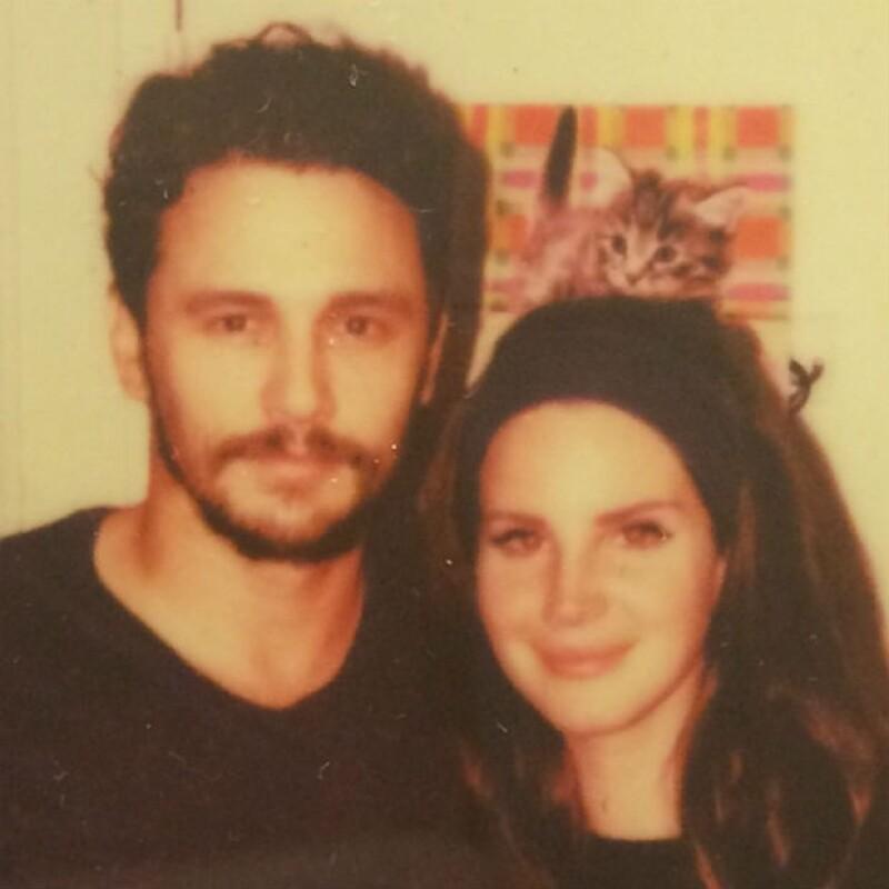 James Franco y Lana del Rey, ¿amigos o algo más?