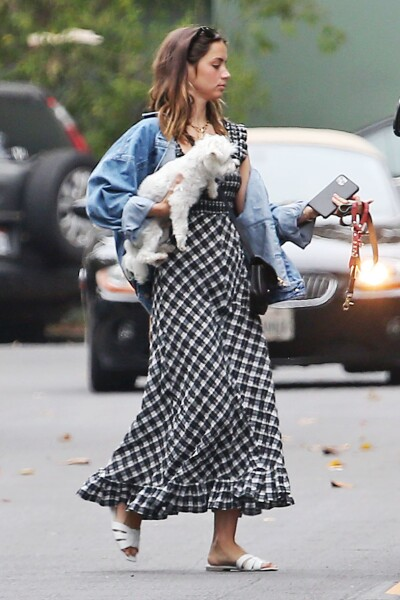 Ana De Armas out and about, Los Angeles, California, USA - 18 Jun 2020