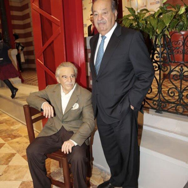 Figura de Gabriel García Márquez, Carlos Slim
