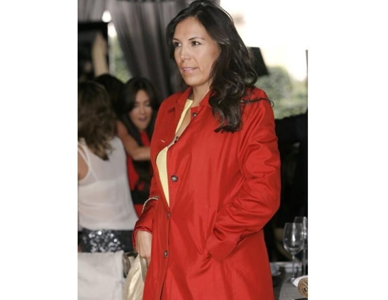 Ana Cristina Fox piropeó públicamente a George Clooney.