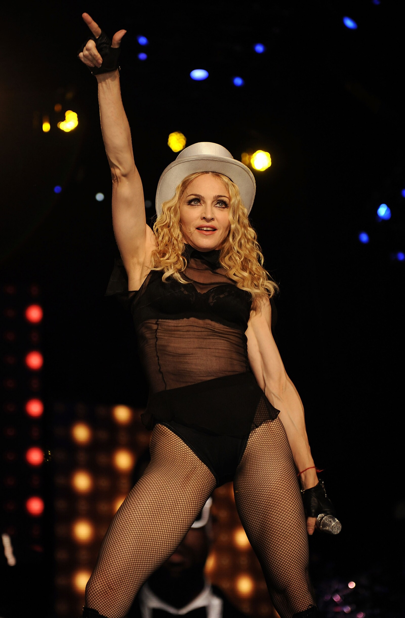 "Madonna ""Sticky & Sweet"" Tour In Miami - Show"