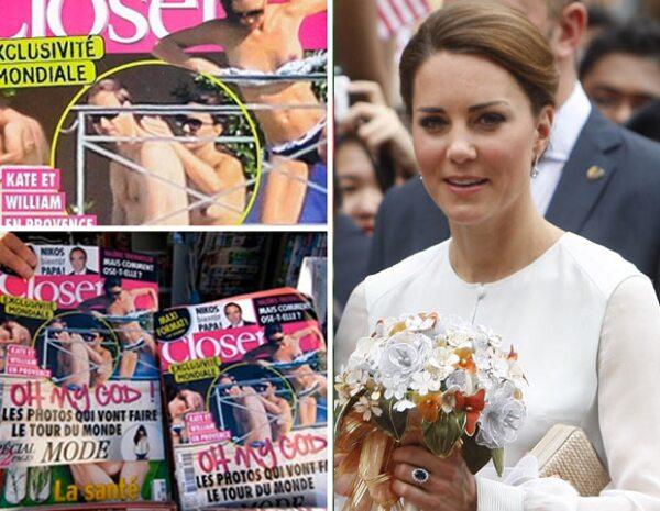 Debido a las imágenes que mostró la publicación francesa donde se aprecia a Kate Middleton topless, la monarquía buscará atacar por la vía legal.