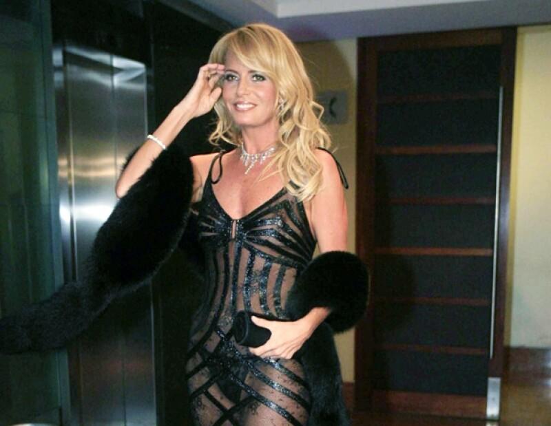 La modelo se casó con el expresidente argentino Menem.