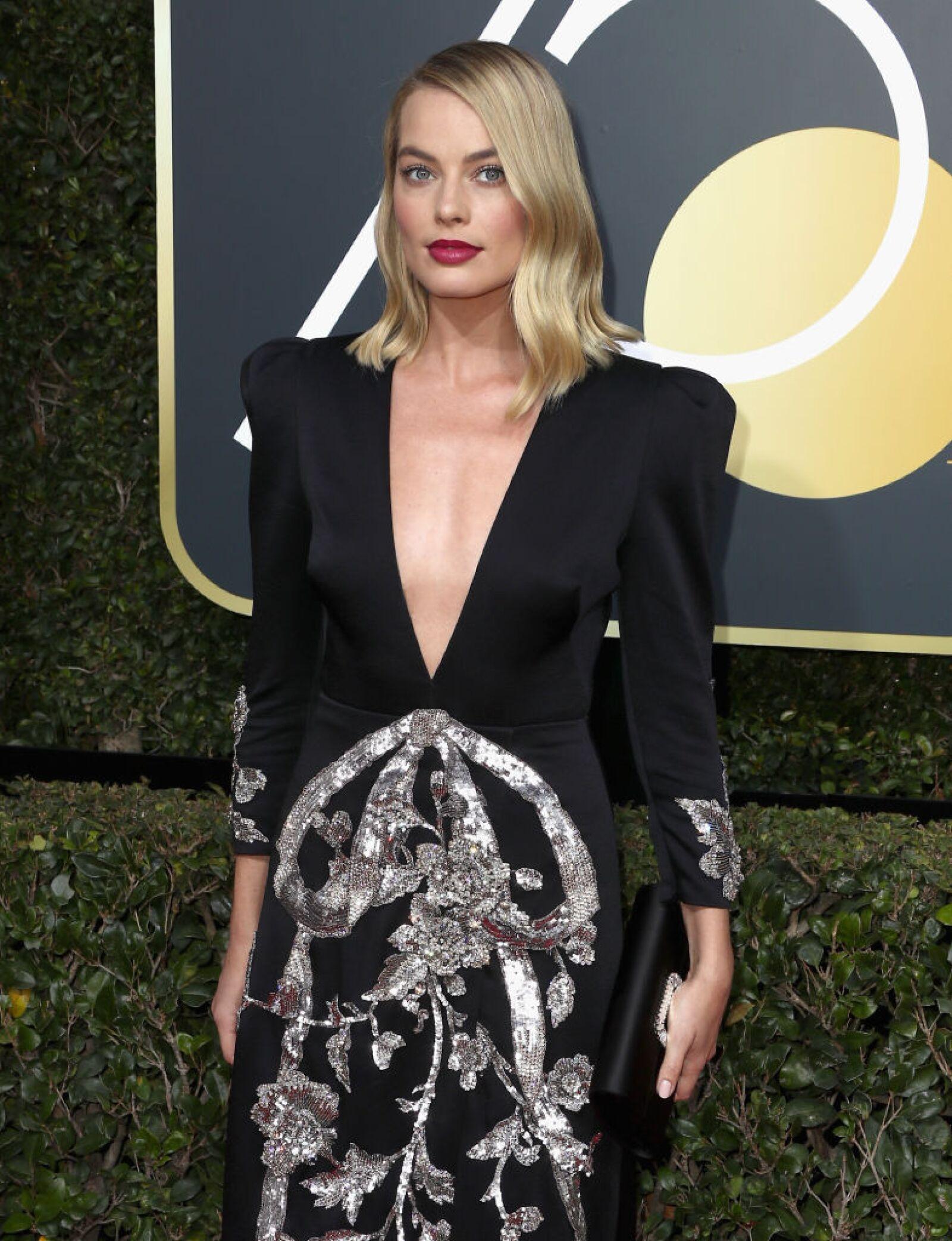 Margot Robbie Golden Globes 2018