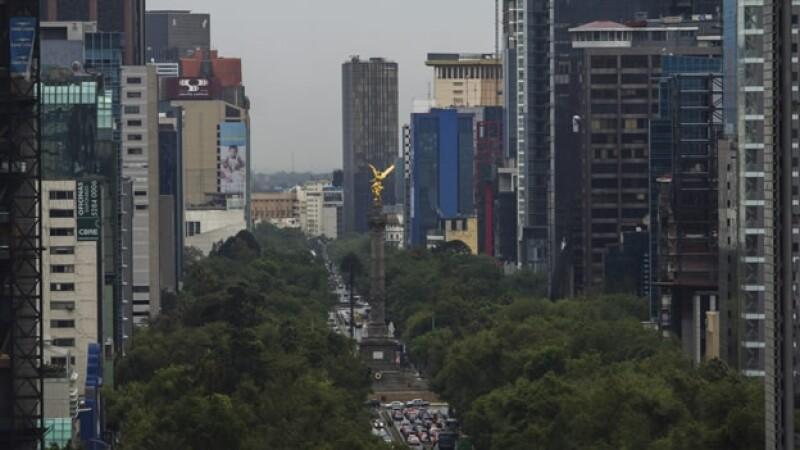 Ciudad de México nublados lluvia