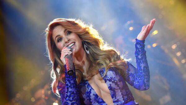 Lucero promotes the DVD 'Mas Enamorada' in Mexico City