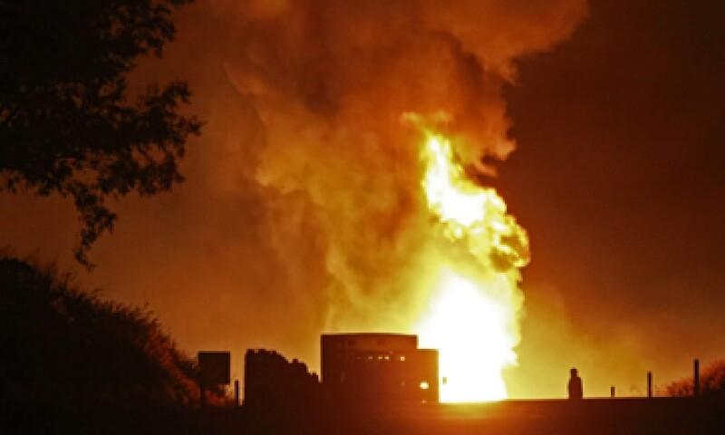 Pemex informó que el incidente en su ducto de Jalisco fue provocado por la fuga de gas LP. (Foto: Notimex)
