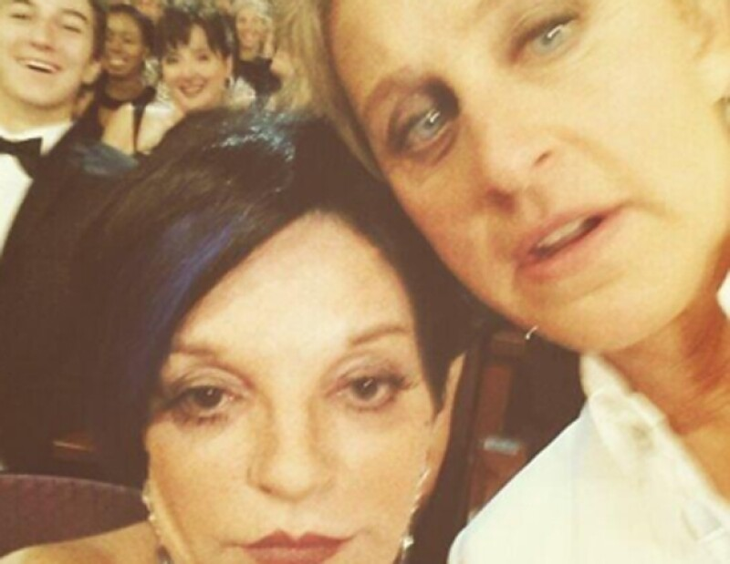 Ellen DeGeneres y Liza Minnelli.