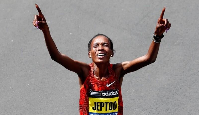 Rita Jeptoo maratonista Kenia