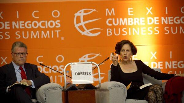 Sergio Sarmiento y Denise Dresser participaron en el debate sobre los principales retos que enfrenta México en materia política.
