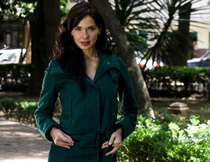 """Adriana Louvier filmó la película """"Hidden Moon"""", que se estrenará en septiembre."""