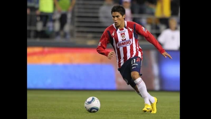 El mediocampista Ulises Dávila, cuando jugaba para Chivas de Guadalajara en la Liga Mx