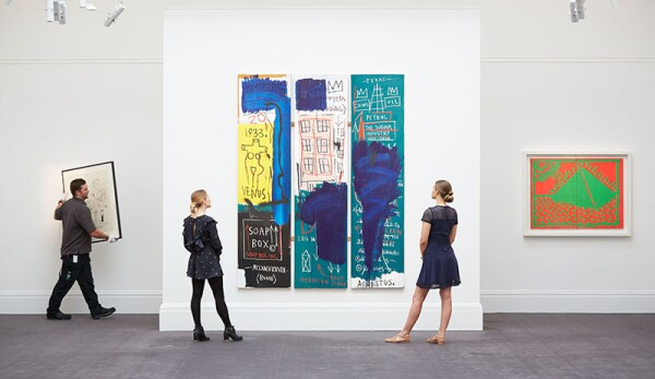 Contemporary Exhibition Press Preview At Sotheby's, London