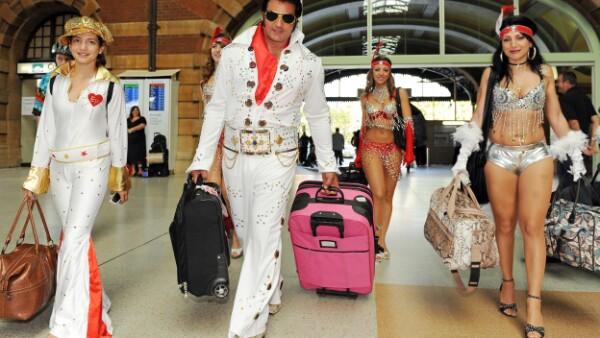 Un ciberpirata se identificó como Elvis en el aeropuerto de Amsterdam