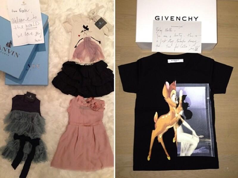 Izq: Regalos de Lanvin, Derecha: Givenchy.