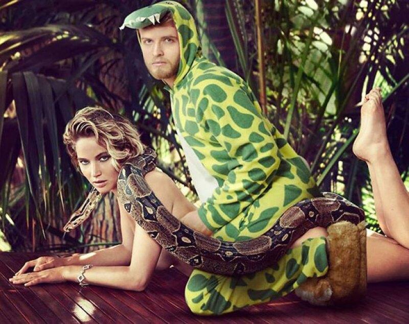 Jennifer Lawrence aparece en una escena muy chistosa.