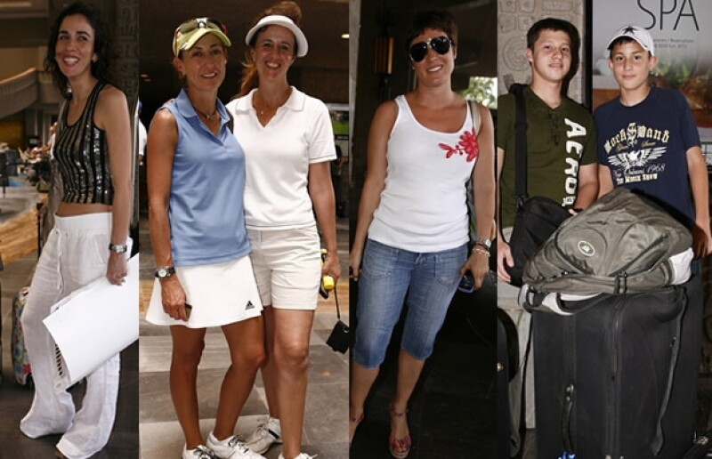 Mariana Muñoz, Jorgelina Asili, Ampi Díaz,Andrea Domínguez, Mauricio Coello y Diego Coello