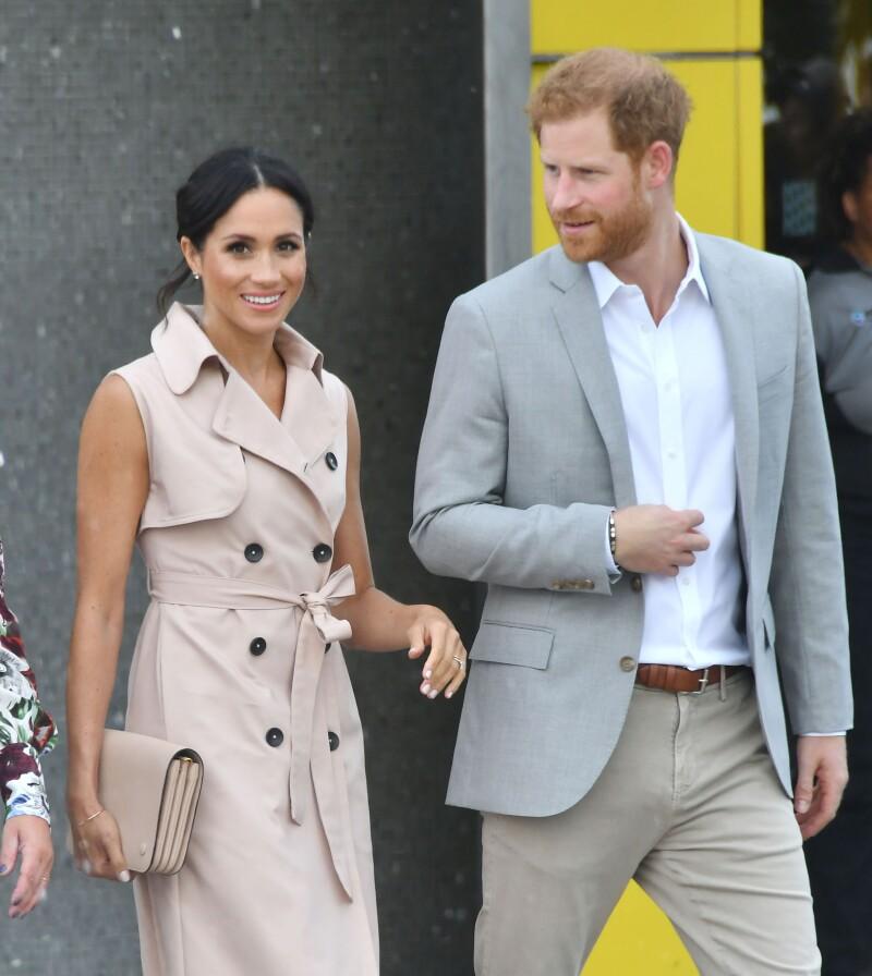 Meghan y Harry , expo Mandela julio 2018