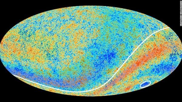 mancha fría del universo
