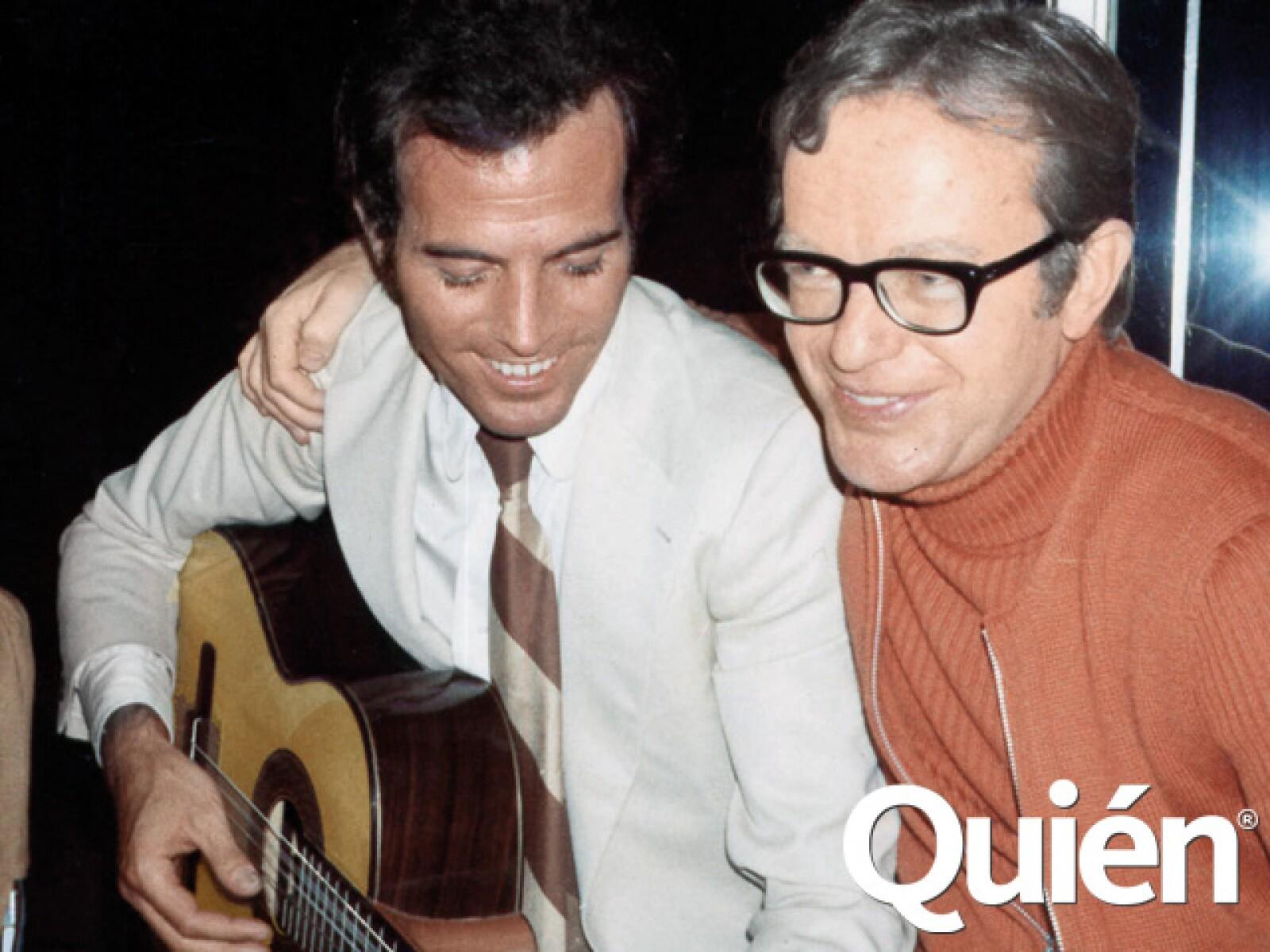 Con Julio Iglesias