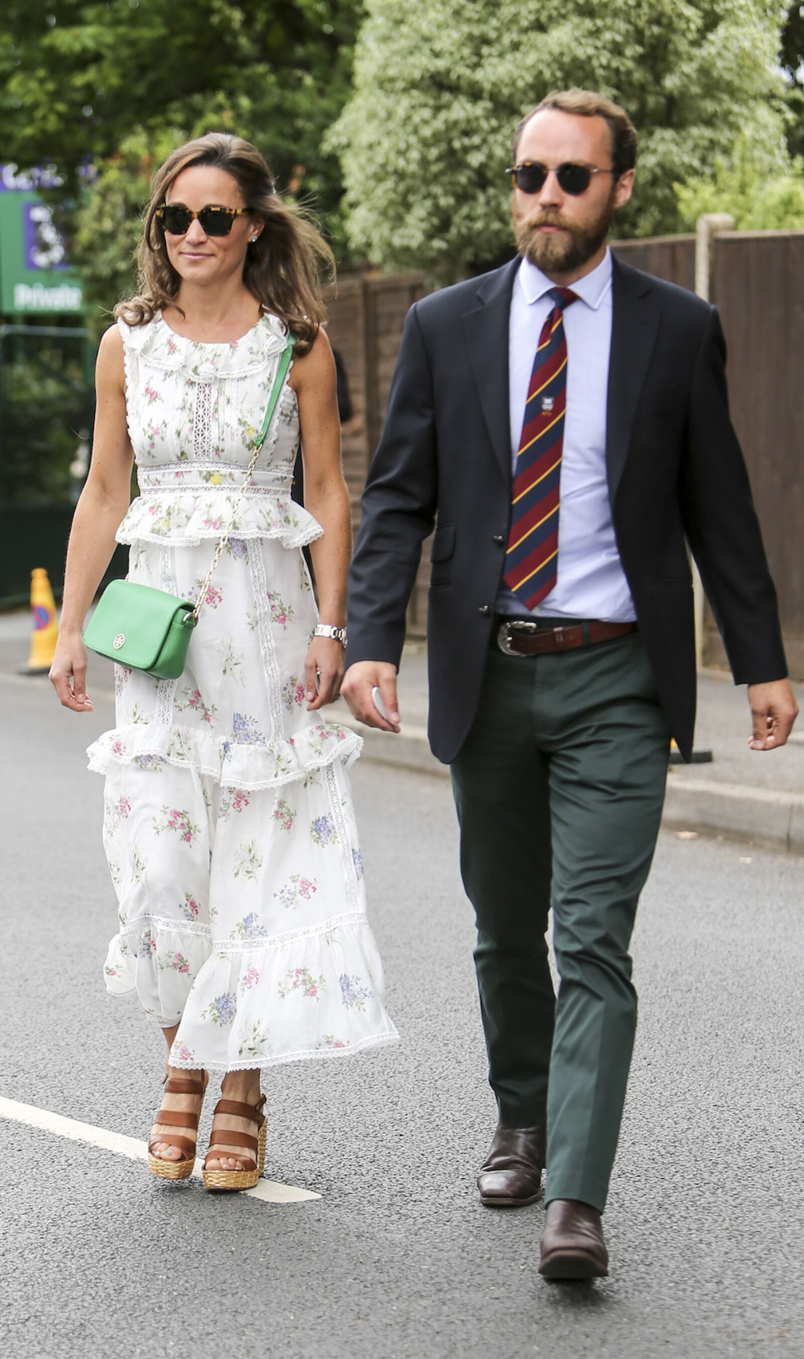 Celebrities arriving at Wimbledon, London, England, 16 July 2017