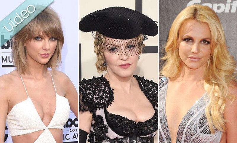 Taylro Swift, Madonna y Britney Spears son algunas de las muchas estrellas que han sufrido wardrobe malfunction en pleno concierto. ¿Recuerdas alguna otra?