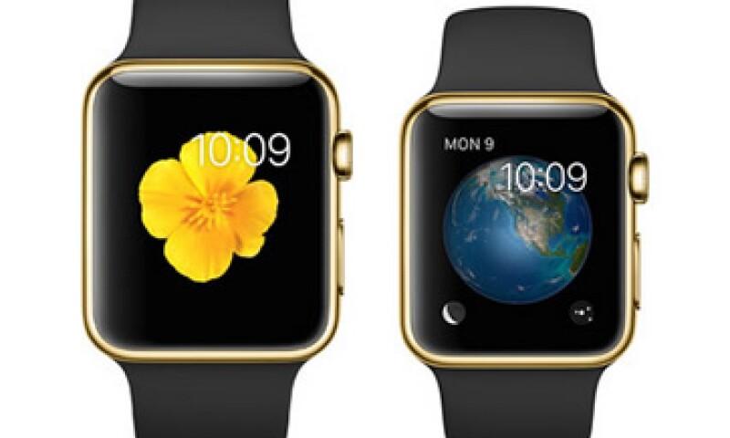 La versión limitada del Apple Watch tiene un precio inicial de 10,000 dólares. (Foto: tomada de Apple.com )