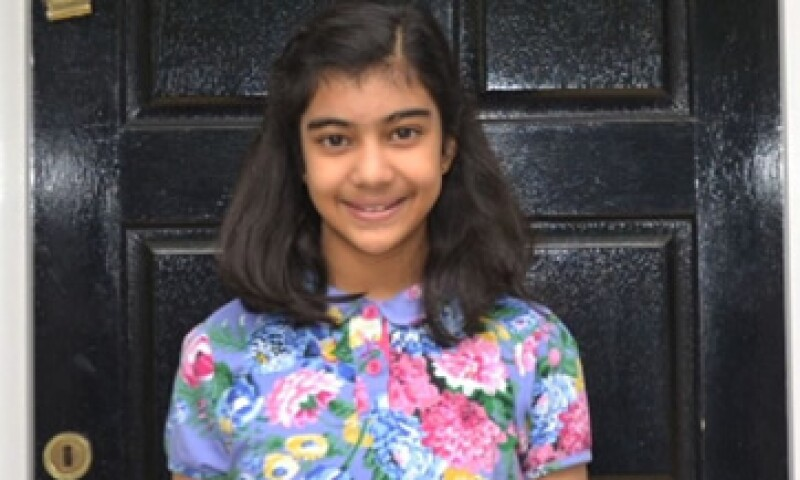 Lydia Sebastian insistió a sus padres para que la llevarán a presentar la prueba y los resultados fueron sorprendentes.  (Foto: CNN )