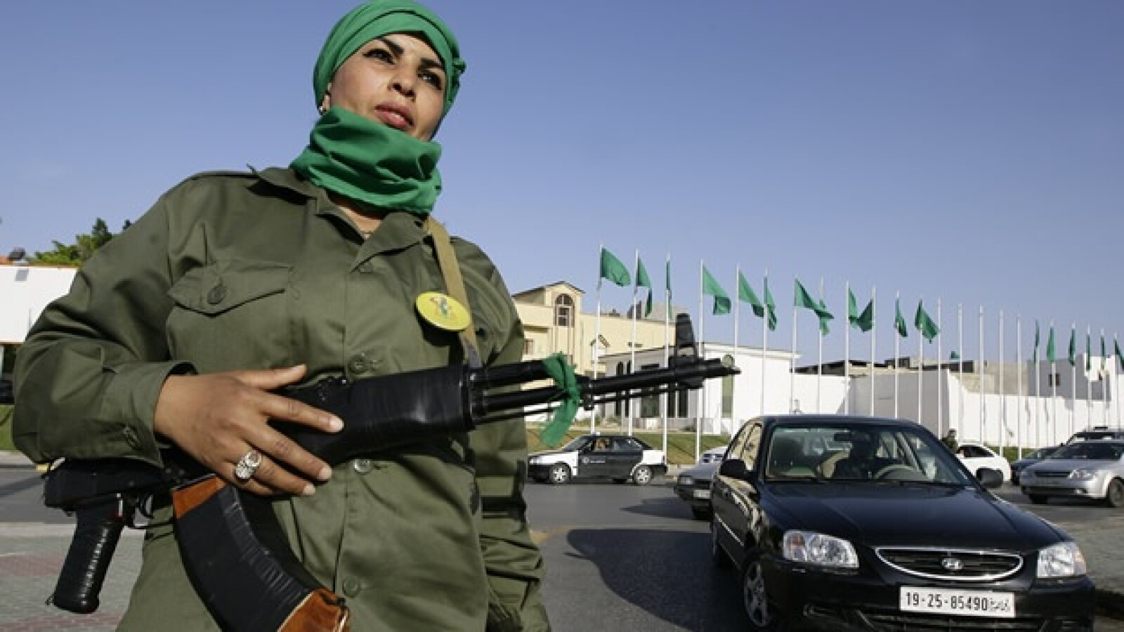 Libia - guardia de Gadhafi