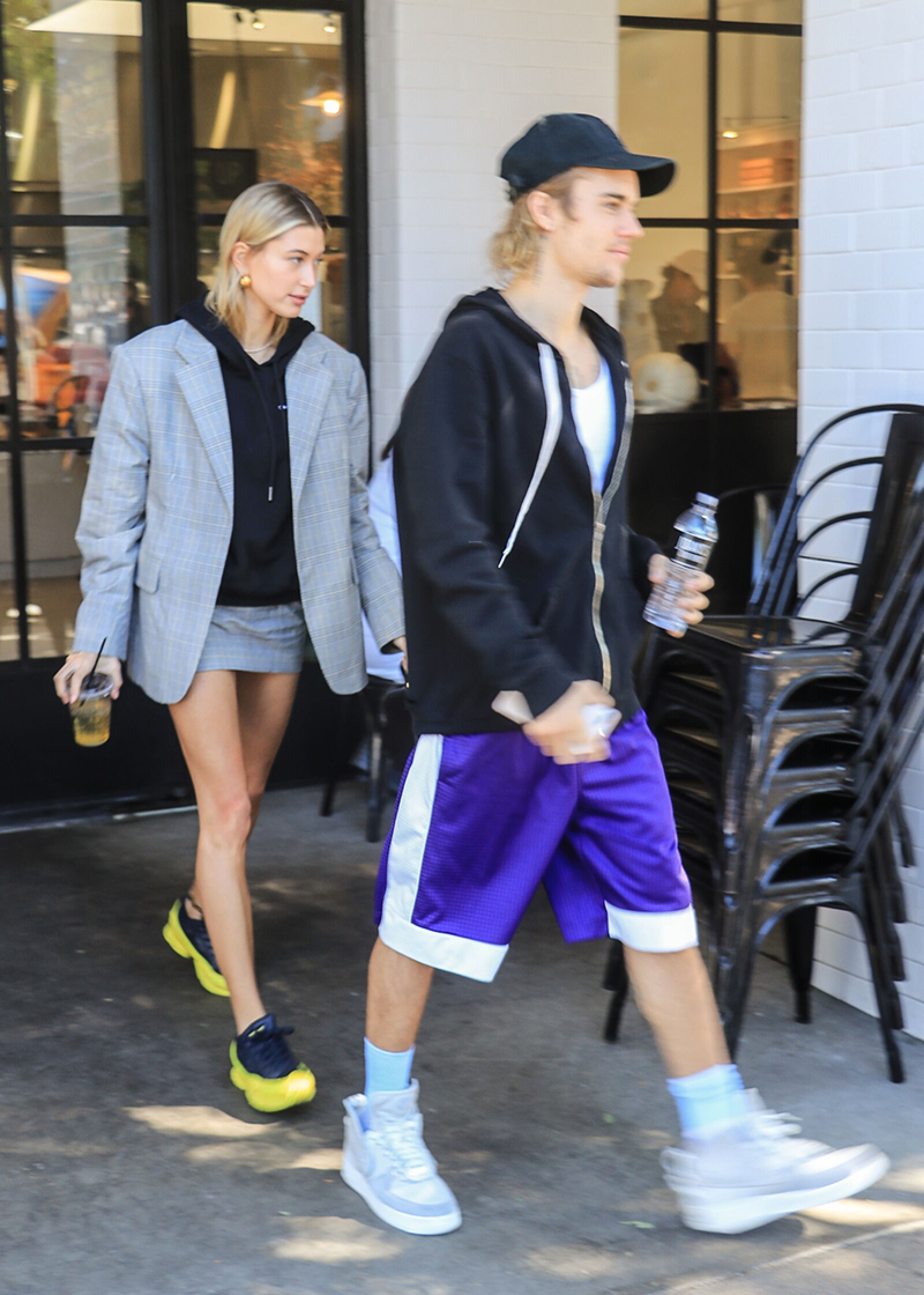 Justin Bieber and Hailey Baldwin out and about, Los Angeles, USA - 16 Oct 2018