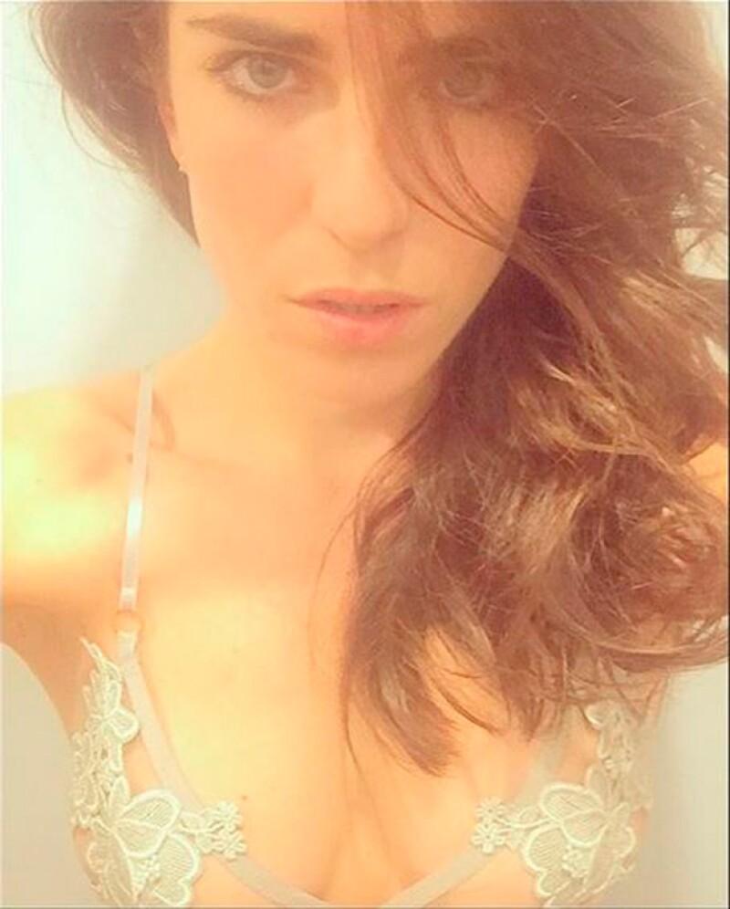 La actriz, que ha declarado que cuida su imagen y evita posar en lencería, publicó una foto en Instagram en la que luce muy sensual. ¿La viste?