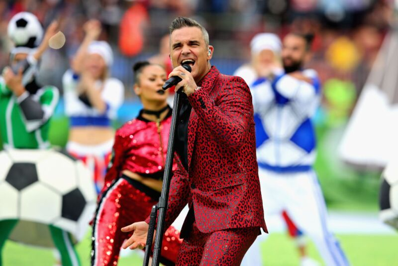 Robbie Williams futbol