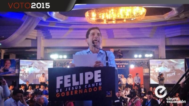candidato del PAN para la gubernatura de Nuevo León