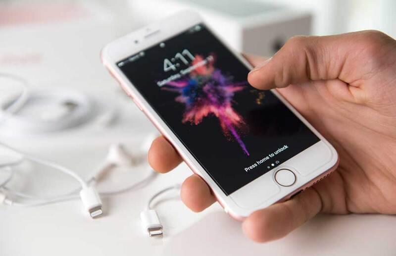 iPhone adicción