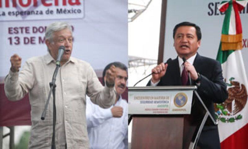 López Obrador y Osorio Chong aparecen en la mayoría de las encuestas, a dos años de la elección. (Foto: Especial/Cuartoscuro )
