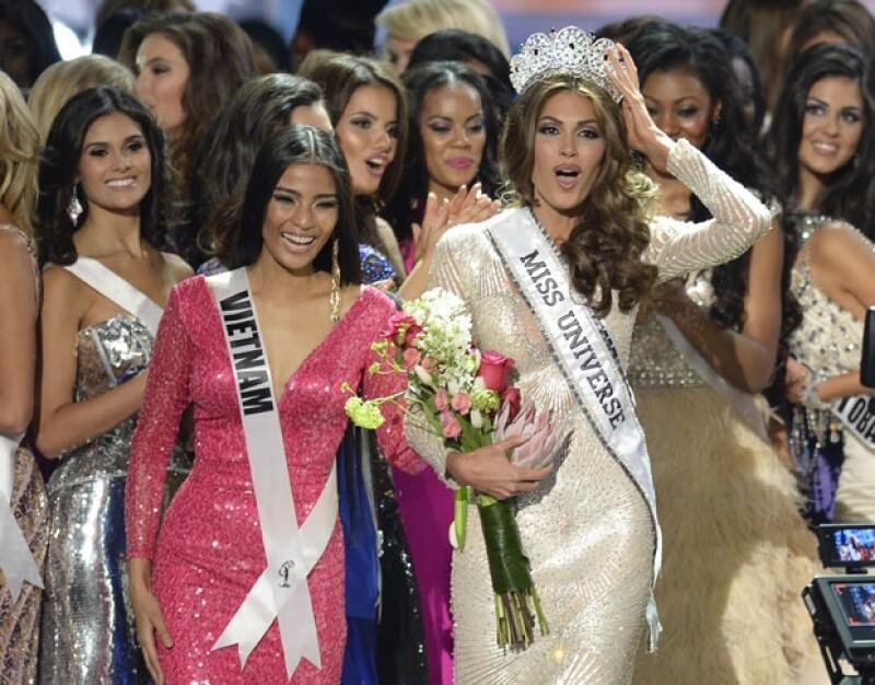 María Gabriela Isler es oficialmente la mujer más hermosa del mundo, quien superó en el certamen a 4 finalistas más, dos de ellas también latinoamericanas.