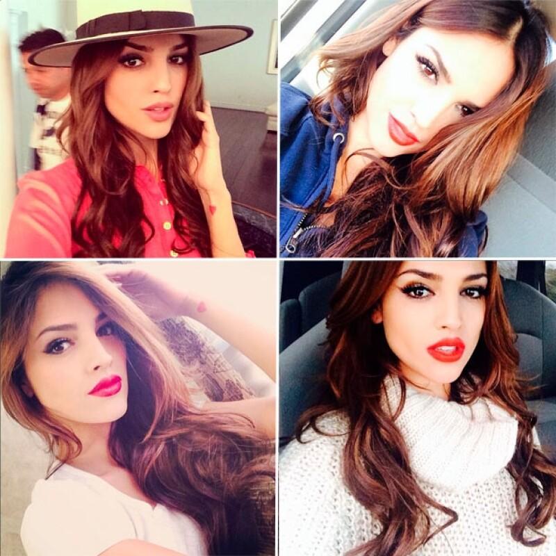 Eiza es una de las reinas del makeup, sabe enfatizar las cualidades de su rostro.