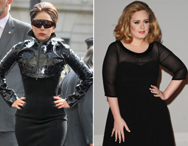 La cantante aseguró a una revista que pensó en la cantante luego de enterarse de las críticas hacia ella, pues la británica, pese a su complexión, es poseedora de un gran talento.