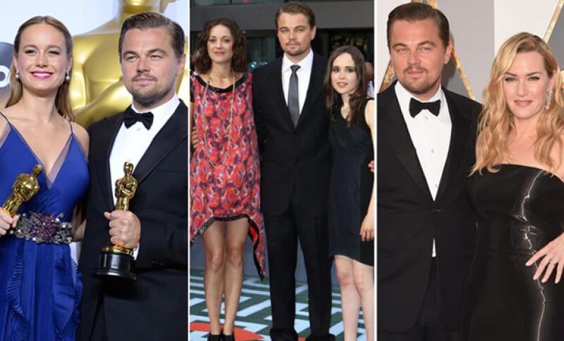El actor no sólo cuenta entre sus amistades famosas a Kate Winslet. ¿Quiénes más se han ganado su confianza?