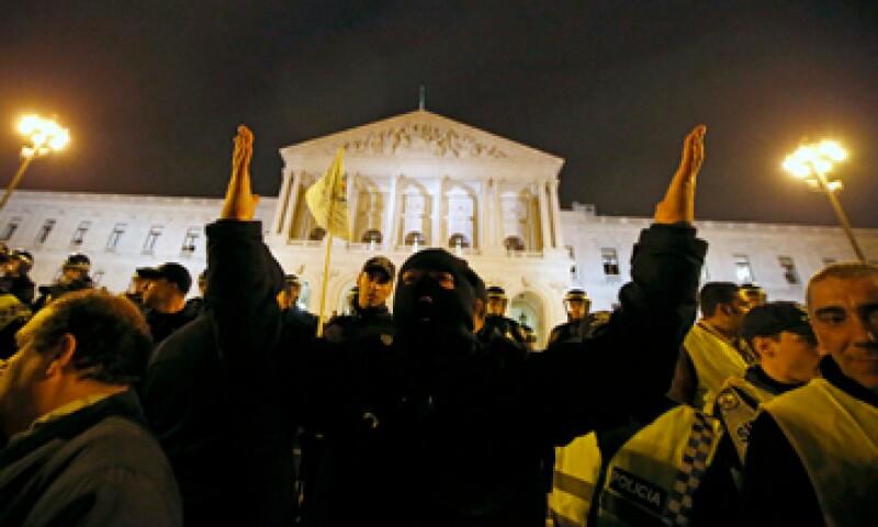 Las medidas de austeridad han causado varias protestas en Portugal. (Foto: Reuters)